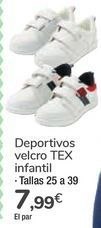 Oferta de Deportivos velcro TEX infantil por 7,99€