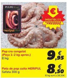 Oferta de Pulpo crudo congelado por 9,95€
