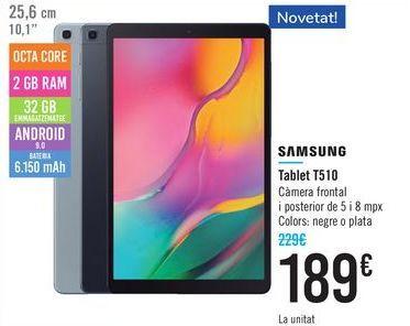 Oferta de Tablet T510 SAMSUNG por 189€
