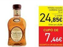 Oferta de Whisky escocés CARDHU Gold  por 24,85€