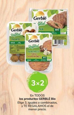 Oferta de En TODOS los productos Gerblé Bio por