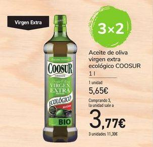 Oferta de Aceite de oliva virgen extra ecológico Coosur por 5,65€