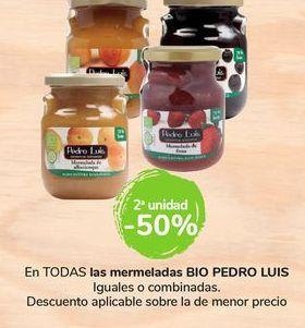 Oferta de En TODAS las mermeladas BIO Pedro Luís por