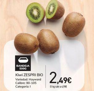 Oferta de Kiwi Zespri Bio por 2,49€