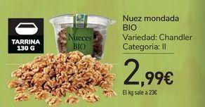 Oferta de Nuez mondada Bio por 2,99€
