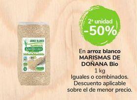 Oferta de En arroz blanco Marismas de Doñana Bio por