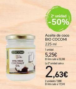 Oferta de Aceite de coco Bio Cocomi por 5,25€