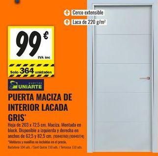 Oferta de Puertas por 99€