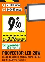 Oferta de Proyector led por 9,5€