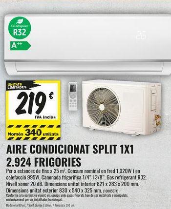 Oferta de Aire acondicionado por 219€