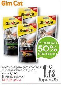 Oferta de Snacks para mascotas por 2,25€