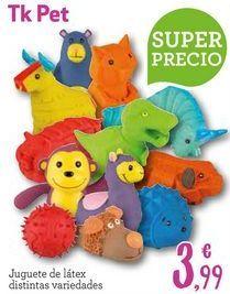 Oferta de Animales de juguete por 3,99€