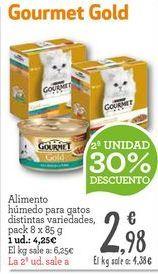 Oferta de Comida para gatos Gourmet por 4,25€