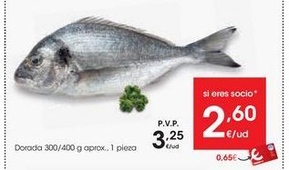 Oferta de Dorada eroski por 3,25€