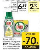 Oferta de Detergente lavavajillas Fairy por 6,99€