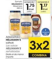 Oferta de Mayonesa Hellmann's por 1,75€
