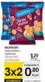 Oferta de Tortitas Bicentury por 1,2€