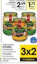 Oferta de Ensaladas Gvtarra por 2,59€