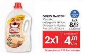 Oferta de Detergente líquido Omino Bianco por 8,02€