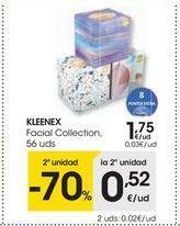 Oferta de Pañuelos de papel Kleenex por 1,75€