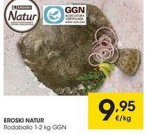 Oferta de Rodaballo eroski natur por 9,95€