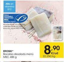 Oferta de Bacalao desalado eroski por 8,9€