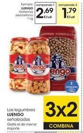 Oferta de Garbanzos Luengo por 2,69€