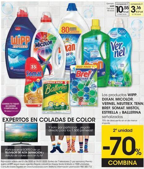 Oferta de Detergente gel Wipp por 10,55€
