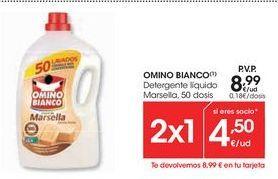 Oferta de Detergente líquido Omino Bianco por 8,99€