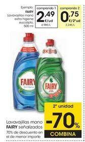 Oferta de Detergente lavavajillas Fairy por 2,49€