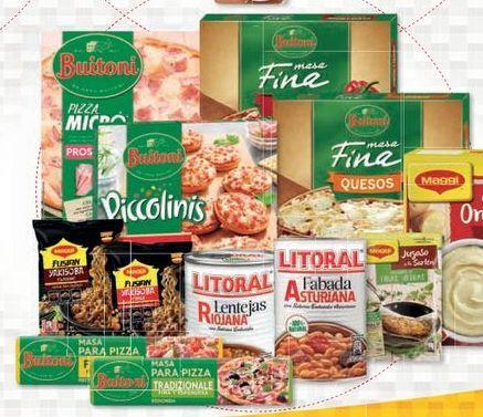 Oferta de Supermercados Buitoni por