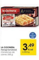 Oferta de Canelones La Cocinera por 3,49€