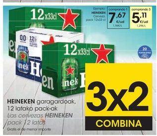 Oferta de Cerveza Heineken por 7,67€