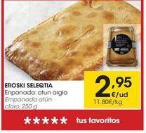 Oferta de Empanada eroski por 2,95€