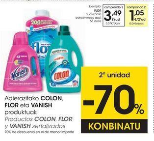 Oferta de Suavizante Flor por 3,49€
