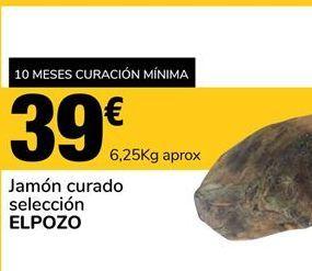 Oferta de Jamón curado El Pozo por 39€