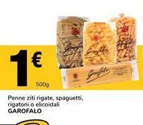 Oferta de Pasta Garofalo por 1€