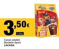 Oferta de Cacao soluble Lacasa por 3,5€
