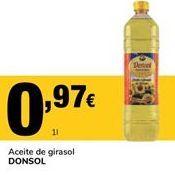 Oferta de Aceite de girasol Donsol por 0,97€