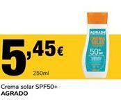 Oferta de Crema solar SPF50+ Agrado por 5,45€