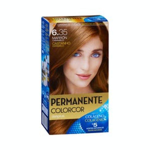 Oferta de Coloración permanente 6.35 marrón caramelo Deliplus por 3,9€