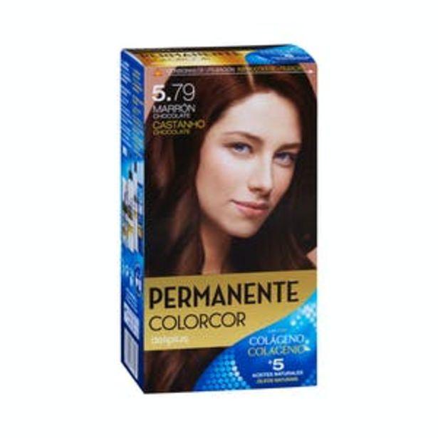 Oferta de Coloración permanente 5.79 marrón chocolate Deliplus por 3,9€