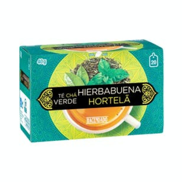 Oferta de Té verde con hierbabuena Hacendado por 1,1€