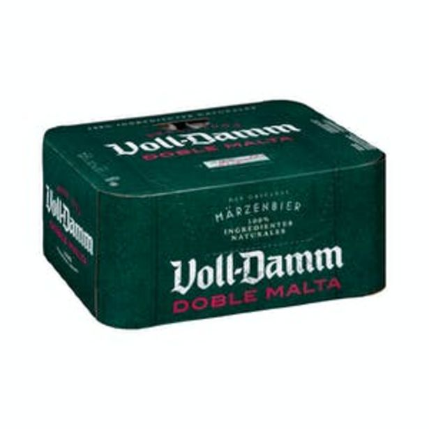 Oferta de Cerveza doble malta Voll-Damm por 9,24€