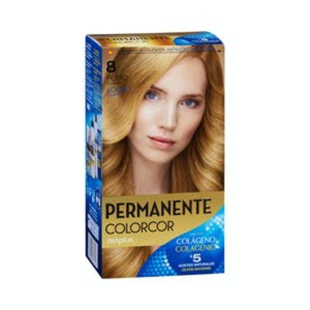 Oferta de Coloración permanente 8 rubio claro Deliplus por 3,9€