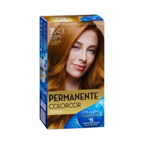 Oferta de Coloración permanente 7.43 cobre cálido Deliplus por 3,9€