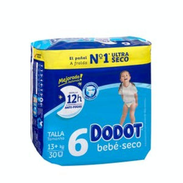 Oferta de Pañales bebé talla 6 más de 13 kg Dodot por 9,95€