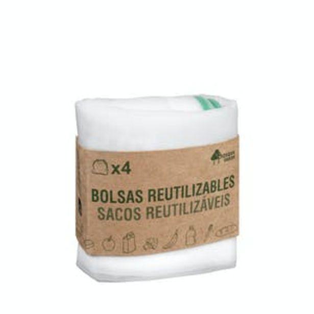 Oferta de Bolsas reutilizables Bosque Verde por 1,2€
