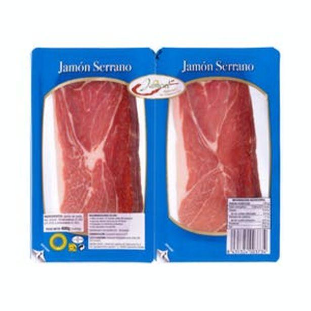 Oferta de Jamón serrano lonchas Jamcal por 5,4€