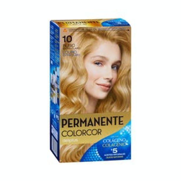 Oferta de Coloración permanente 10 rubio extra claro Deliplus por 3,9€